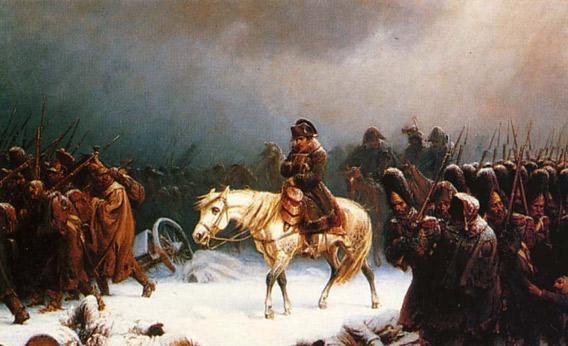 Napoleon prøvde å invadere RUssland i 1812. Det gikk heller ikke så bra.