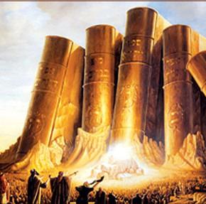 Fjellet er formet som de hellige skriftene som ble gitt Moses på Sinai
