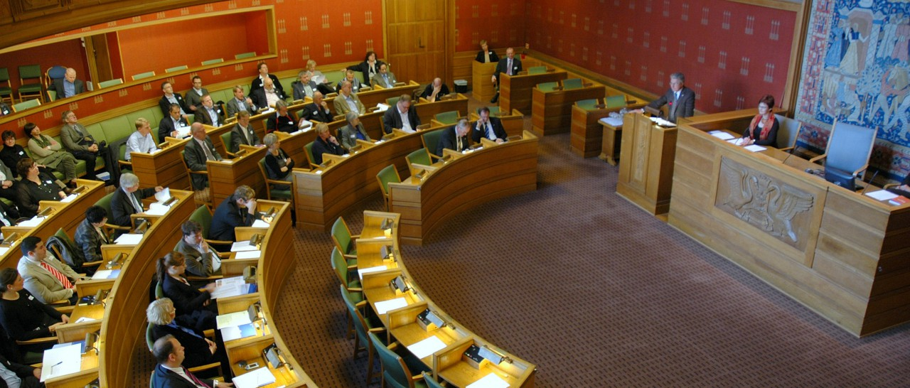 """Bystyret er Oslos """"Storting"""". Mange viktige avgjørelser for Oslos innbyggere tas her."""