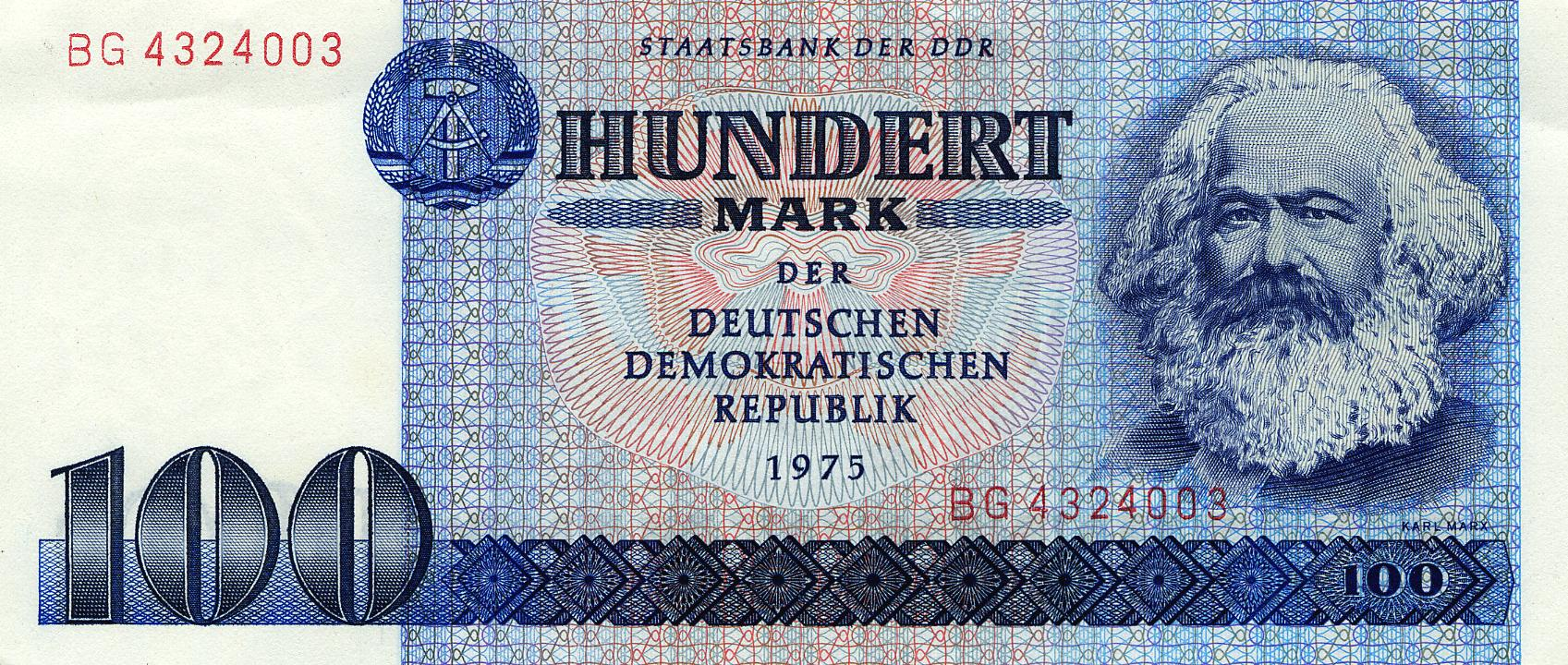 germaniaDDRDeutsche-Bundesbank-DM-Banknotes