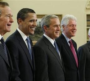 Amerikanske presidenter siden 1945
