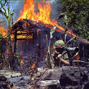 The Vietnam War divides America