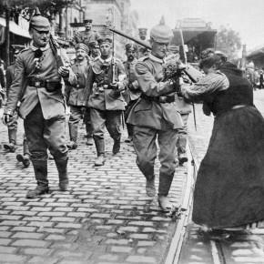 Første verdenskrig: fra krigsbegeistring til skyttergraver
